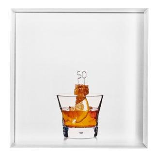 '50/50' Limited-Edition Cocktail Portrait Photograph For Sale