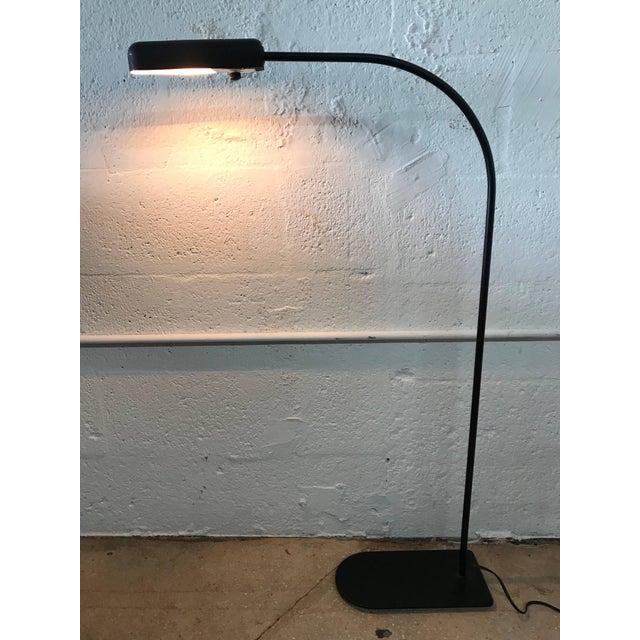 Black Ron Rezek Postmodern Floor Lamp For Sale - Image 8 of 9