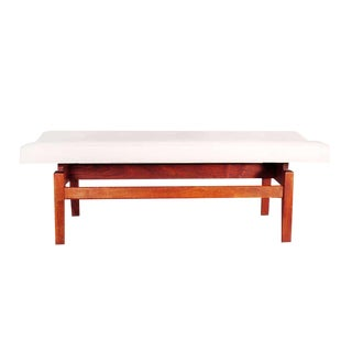 Jens Risom Floating Bench, 1950s For Sale