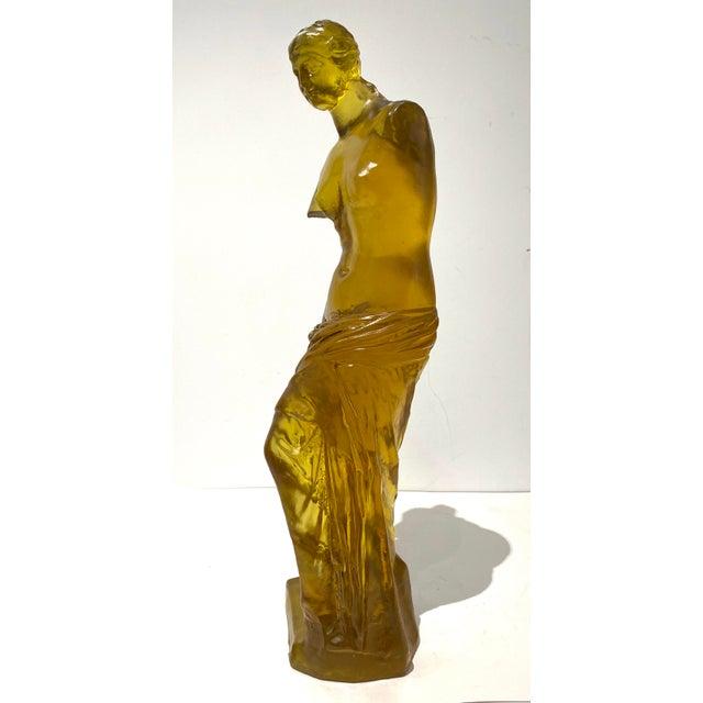 1960s Mid-Century Dorothy Thorpe Resin Venus De Milo Figure For Sale - Image 5 of 13