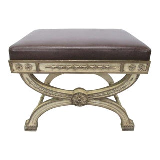 Italian Rococo Painted Bench