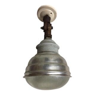 Vintage industrial lamp a pair