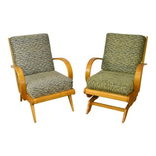 Russel Wright Mid-Century Modern Lounge Chairs - A Pair For Sale