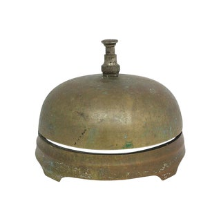 Large Antique Service Bell For Sale