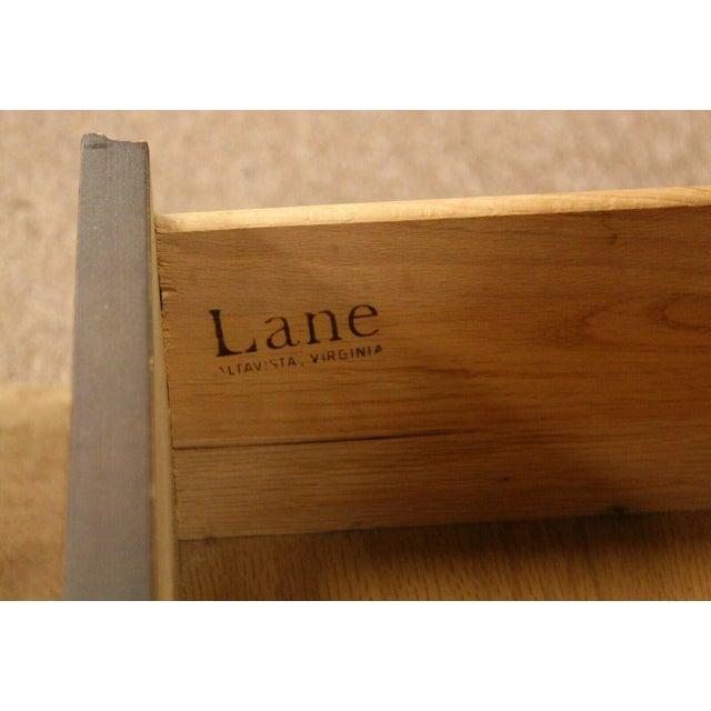 Altavista Lane Mid Century Modern Lane Rosewood Bedroom Set Dresser Headboard Cabinet - Set of 6 For Sale - Image 4 of 13