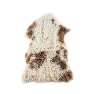 "Contemporary Hand-Tanned Sheepskin Pelt - 2'0""x3'0"""