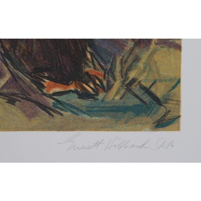 Artist: Everett Hibbard, American Title: Standing Bear Year: 1979 Medium: Lithograph, signed and numbered in pencil...