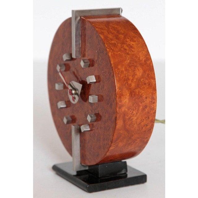 Art Deco Machine Age Gilbert Rohde Herman Miller Century of Progress Clock, No. 4725B For Sale - Image 3 of 11