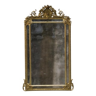 Pareclose 19th Century Mirror For Sale