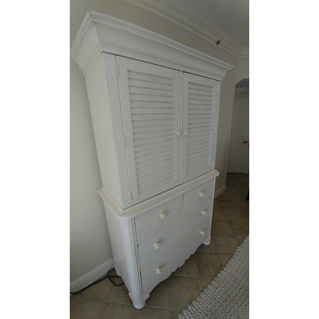Lexington Furniture Lexington Cottage Living Armoire For Sale - Image 4 of 5