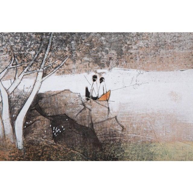 Watercolor Painting by Tay Bak Koi - Image 4 of 5