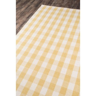 """Madcap Cottage Highland Fling a Scotch Please Gold Area Rug 5' X 7'6"""" Preview"""