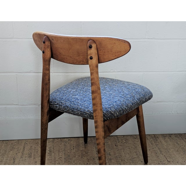 Bentwood 1960s Vintage Baumritter Style Side Chair For Sale - Image 7 of 11