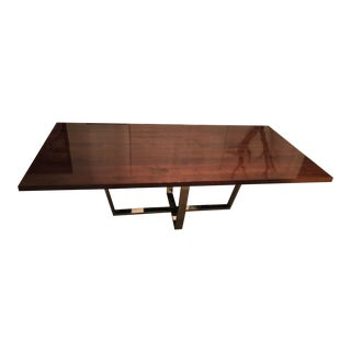 Structural Base Swaim Dining Table For Sale