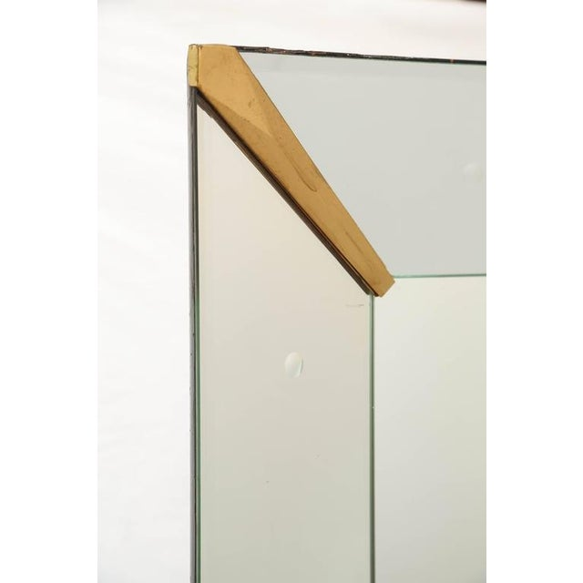 Art Deco Large Rectangular Venetian Dotted Mirror For Sale - Image 3 of 5