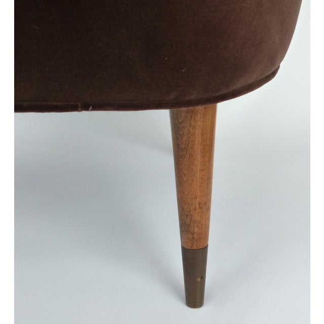 Mid-Century Gio Ponti Style Club Chairs-A Pair For Sale - Image 9 of 11