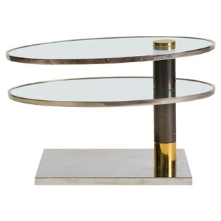 Pace Two-Tier Revolving Table For Sale