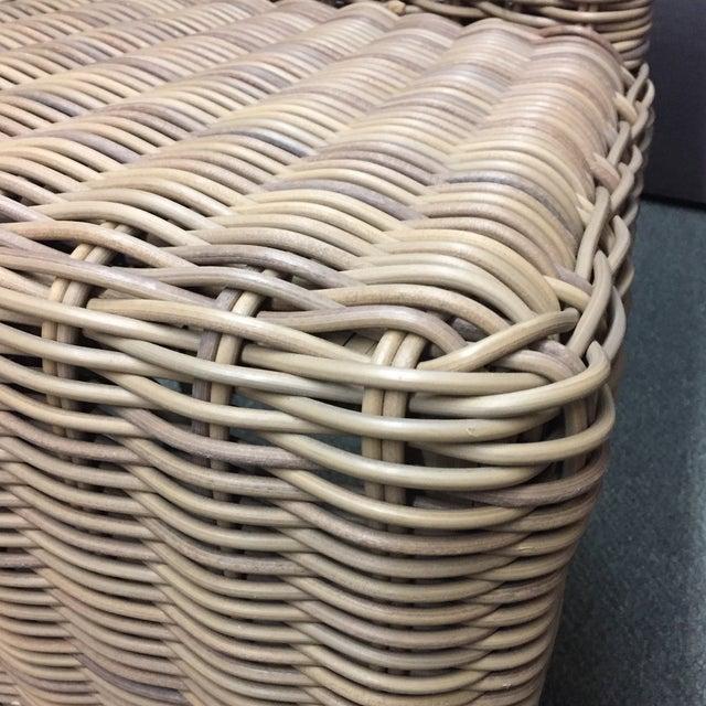 Restoration Hardware Majorca Side Chairs - Set of 4 - Image 10 of 11