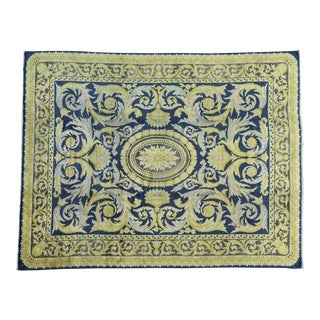 """Old Spanish Savonnerie Rug - 10'10"""" X 13'8"""" For Sale"""