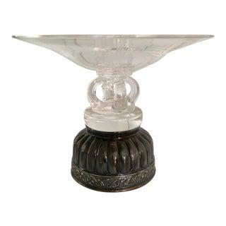 Steuben Chrystal Art Glass Display Bowl For Sale