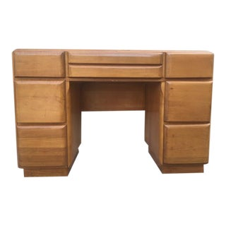 1960s Heywood Wakefield Executive Desk For Sale
