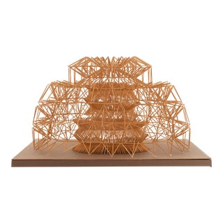 Irving Harper Toothpick Construction Dome For Sale