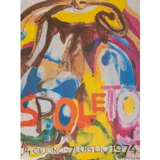 """Willem De Kooning, """"Spoleto"""", Exhibition Poster For Sale"""