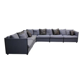 1970s Mario Bellini for Cassina Landeau 6 Piece Modular Sectional Sofa