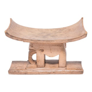 Ashanti Elephant Stool For Sale
