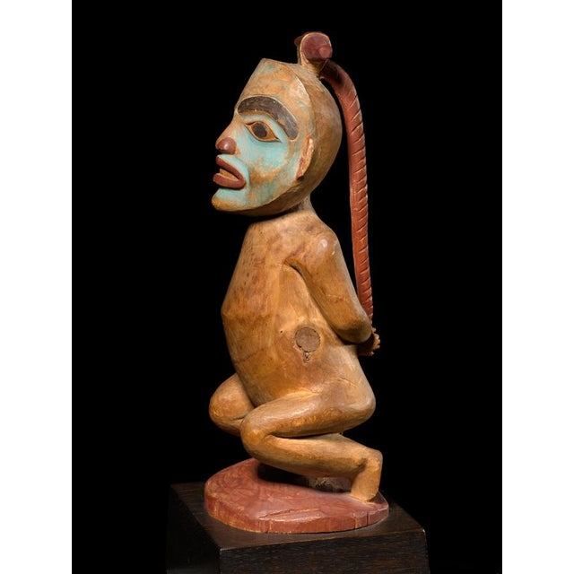Primitive Shaman Figure of a Bound Witch, Late 19th Century For Sale - Image 3 of 4