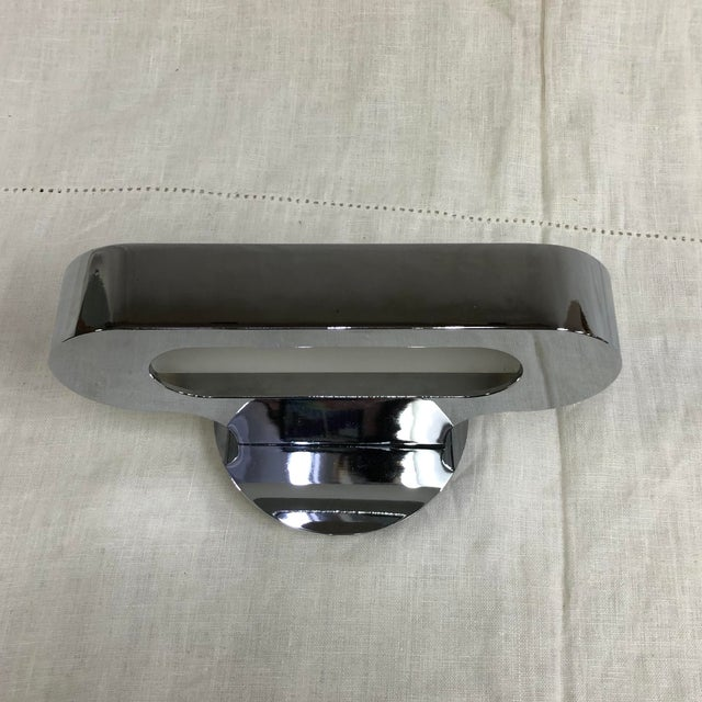Metal Artemide Talo 21 Mini Wall Sconce in Polished Chrome For Sale - Image 7 of 7