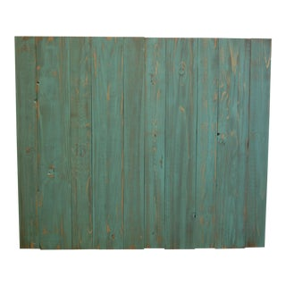 Northern Green Weathered Look Twin Headboard Hanger Style