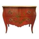 Image of Chinoiserie Chest of Drawers by Baker Furniture For Sale