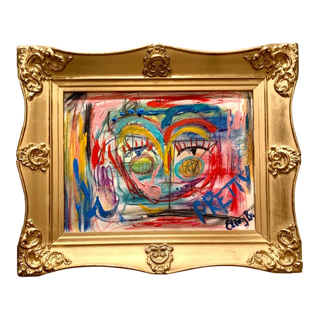 Abstract Face by Ebony Boyd For Sale