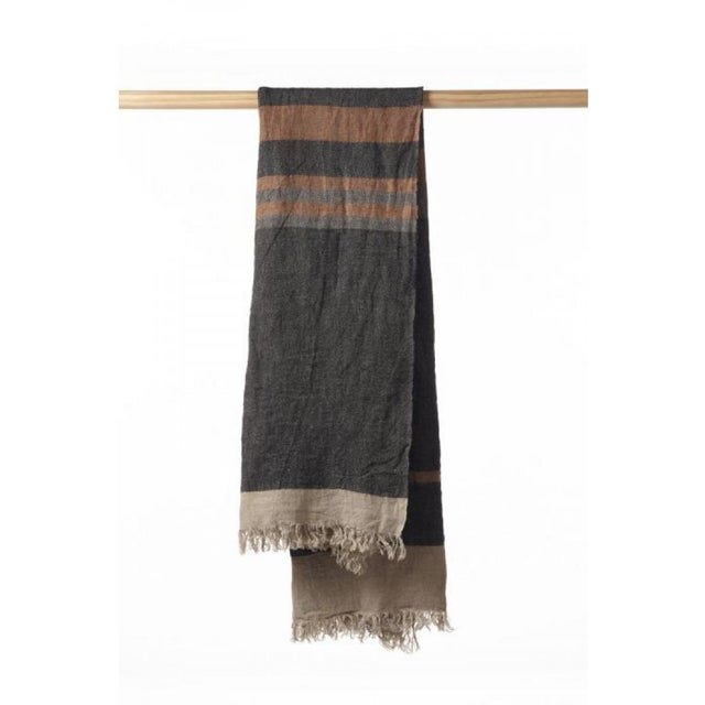 The Belgian Towel is designed to be multipurpose, it can serve as a beach towel, sauna towel, throw…you get the idea. This...