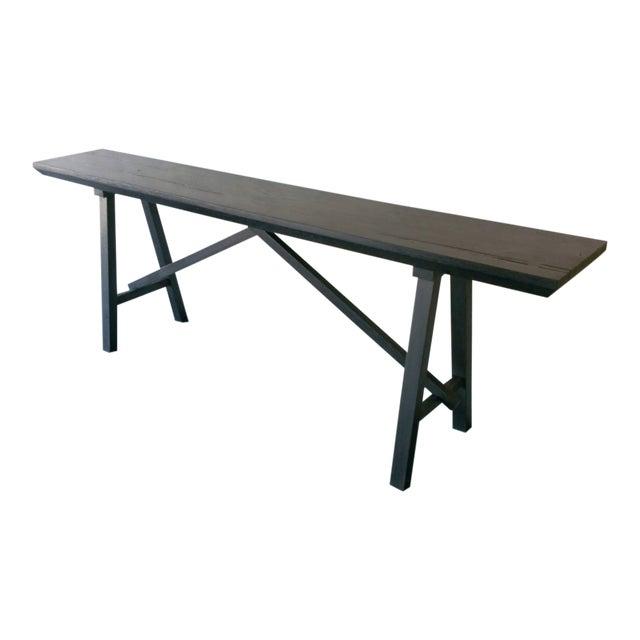 Oz|shop Ebonized Trestle Tables For Sale