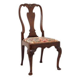 George I Walnut Chair For Sale