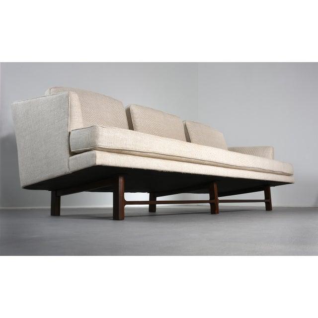 Dunbar Furniture Edward Wormley for Dunbar Model 5604 Sofa, Circa For Sale - Image 4 of 8