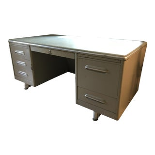 Mid-Century Tanker Desk For Sale