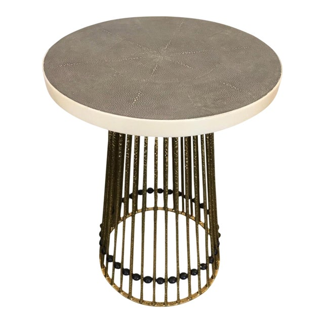 Mid-Century Inspired Side Table - Image 1 of 4