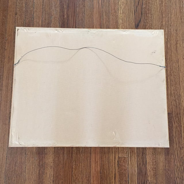 Original Abstract Lithograph in Gold Frame - Image 7 of 7