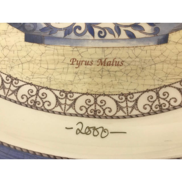 Contemporary Wedgwood Signed Duchess of York Sarah's Garden Platter For Sale - Image 3 of 6