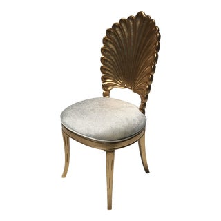 Gold Leafed Venetian Grotto Style Shell Chairs