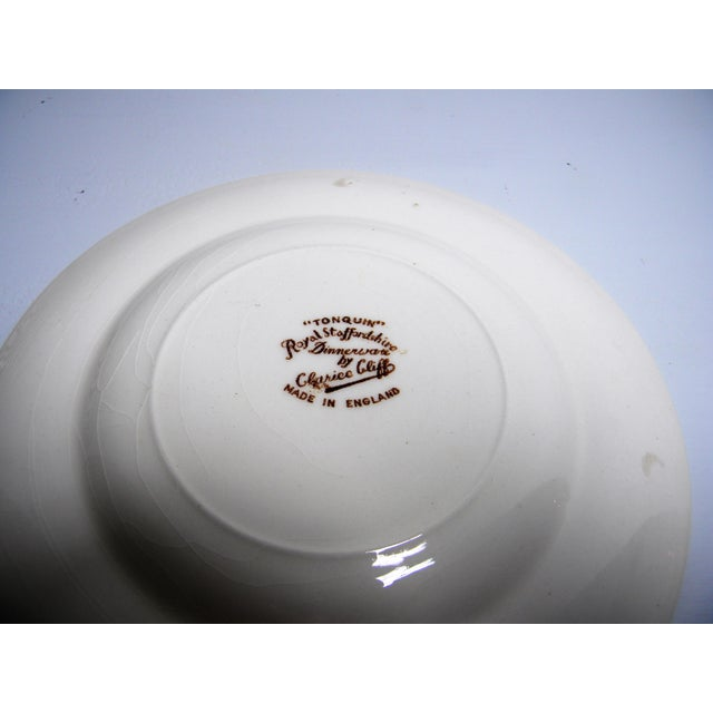 English Traditional Early 20th Century Antique Royal Staffordshire Bread & Butter Plates - Set of 11 For Sale - Image 3 of 5
