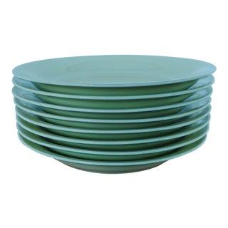 Dansk Tjorn Topaz Pasta / Soup Bowls - Set of 8 For Sale