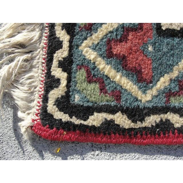 """Turkish Medallion Wool Oriental Rug - 2'3"""" X 4'0"""" - Image 4 of 6"""