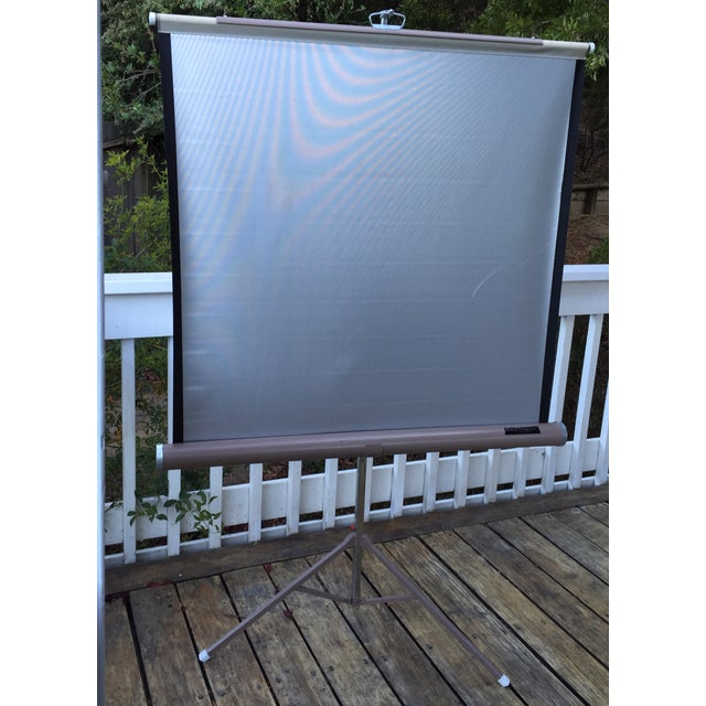 Mid Century Wards Portable Projection Screen - Image 3 of 11