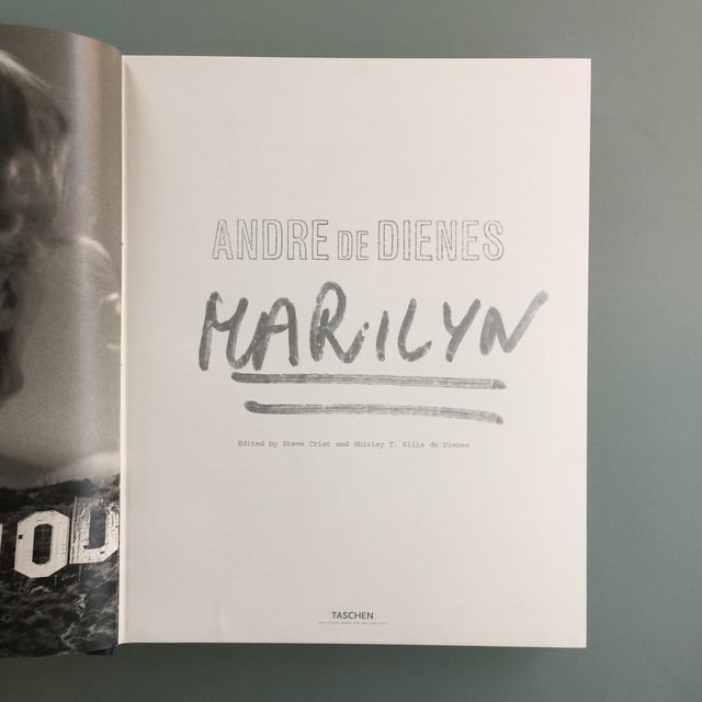 "Taschen ""Marilyn"" by Andre De Dienes Taschen Hardcover Oversize Boxed Book For Sale - Image 4 of 12"