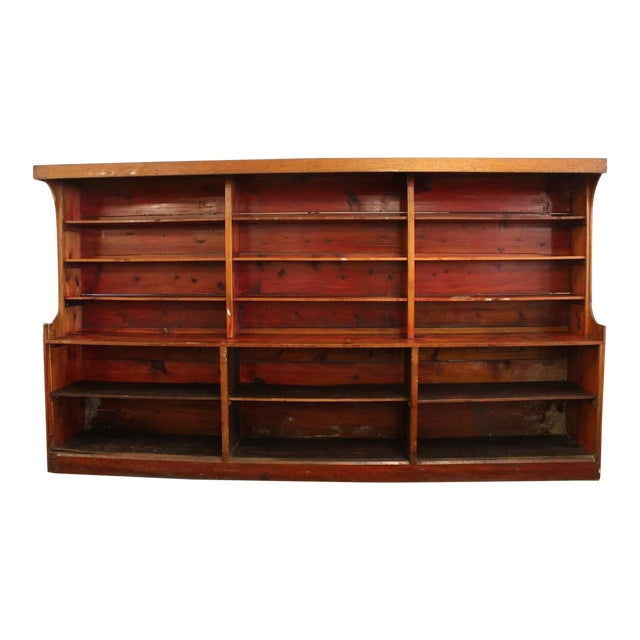 Vintage Mid 20th Century American Department Store Shelves For Sale