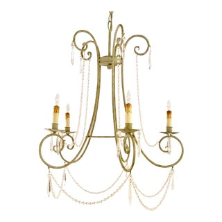 Currey & Co, French Style Chandelier For Sale